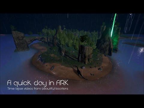 Vakker time lapse video fra ARK survival