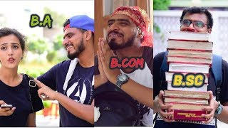 Video B.A vs B.COM vs B.SC - Amit Bhadana MP3, 3GP, MP4, WEBM, AVI, FLV Oktober 2017