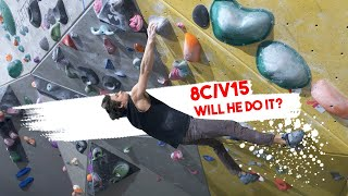 Emil VS His 8C/V15 Indoor Boulder by Eric Karlsson Bouldering