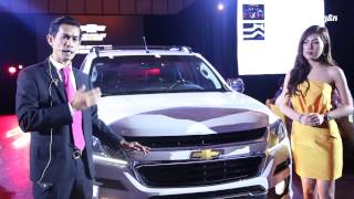 Mr. Pen Piseth Present Chevrolet High Country 2017 in Cambodia