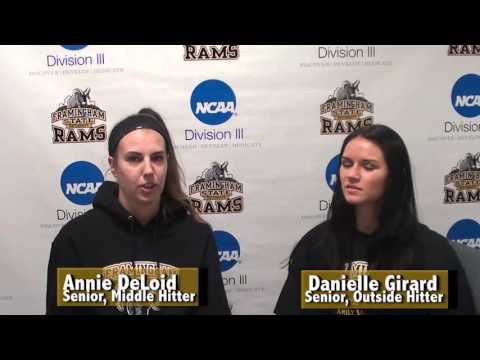 Framingham State Volleyball 2015 NCAA Tournament Preview