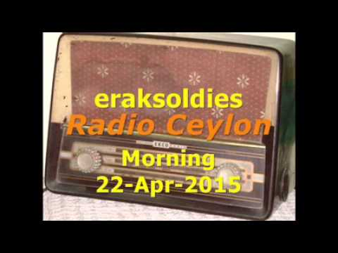 Video Radio Ceylon 22-04-2015~Wednesday Morning~02 Purani Filmon Ka Sangeet download in MP3, 3GP, MP4, WEBM, AVI, FLV January 2017