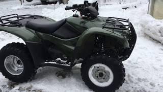 8. 700 miles/6 months report - 2007 Honda Rancher 420 ES 4x4