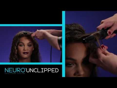 "How to Create Big, Sexy Curls with the Neuro™ Unclipped 1.25"" Cone"