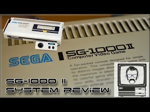 Sega SG-1000 II System Review & Story | Nostalgia Nerd
