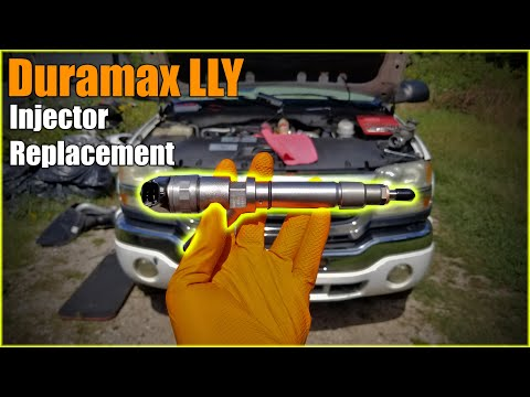 Duramax LLY Injector Replacement