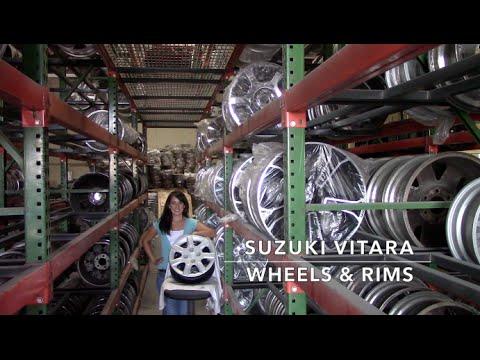 Factory Original Suzuki Vitara Rims & OEM Suzuki Vitara Wheels – OriginalWheel.com