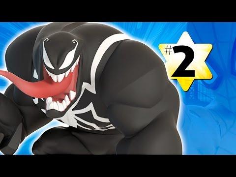 Прохождение Disney Infinity 2.0 Человек паук #2 Веном (видео)