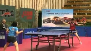 卓球 ITTF ワールドツアー チェコオープン 石川佳純 vs 伊藤美誠