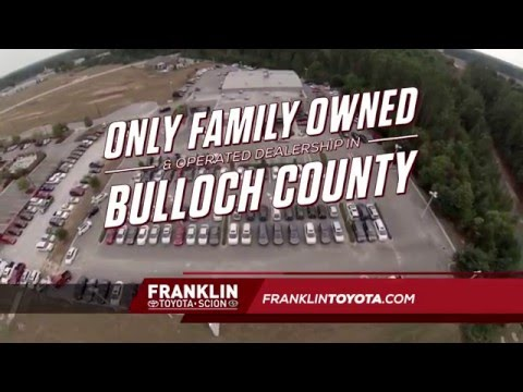 Franklin Toyota - The Only Family-Owned and Operated Dealership in Bulloch County