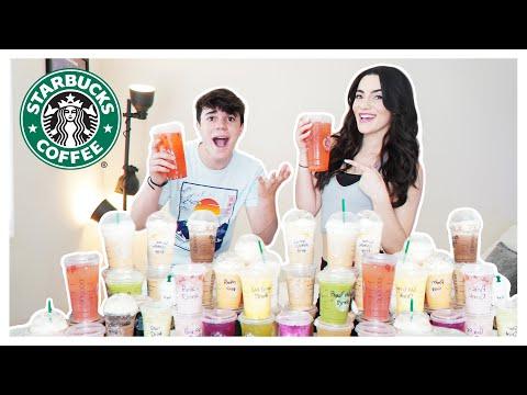 We TRIED Every DRINK On The STARBUCKS MENU**CRAZY**😱| Liana Ramirez