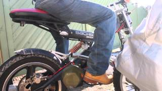 9. Sachs Madass 125cc With Un-restricted exhaust pipe.