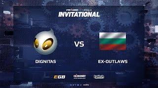 dignitas vs ex-outlaws, map 2 overpass, SL i-League Invitational Shanghai 2017 EU Qualifier