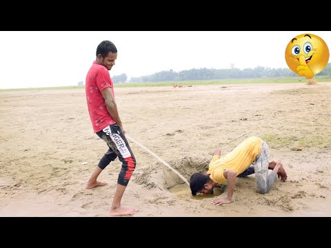 Must watch funny 😂😂 comedy video 2020 try to not lough By || Bindas fun bd ||