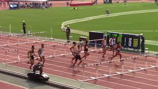 【日本選手権】金井大旺選手が日本新記録の13秒36で優勝!