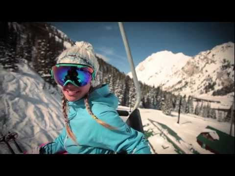 alta - Filmaker Kris Ostness follows pro skier Caroline Gleich as she explores Snowbird and the Alta/Snowbird Connection.