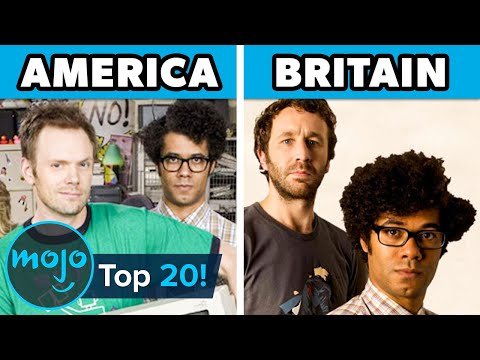 Top 20 Awful American Remakes Of Great British Shows