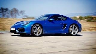First Drive► 2015 Porsche Cayman GTS on Racetrack (Good Exhaust Sound)
