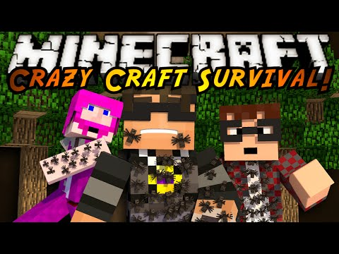 2.0 - In this episode of Crazy Craft we head into the Ant world to collect supplies, little did we know how horribly that would go. Friends Channels! http://www.youtube.com/user/munchingbrotato...