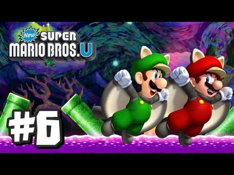 super mario bros wii u video