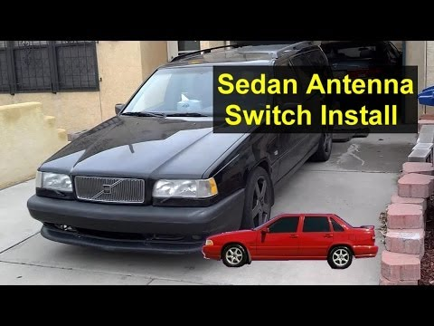 Volvo S70, 850 Antenna Switch Installation Modification – Auto Repair Series