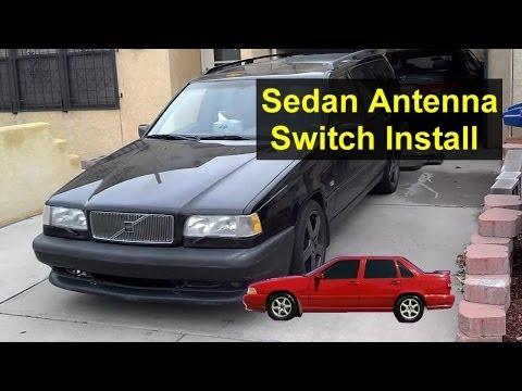 Volvo S70, 850 Antenna Switch Installation Modification – Auto Repair Series