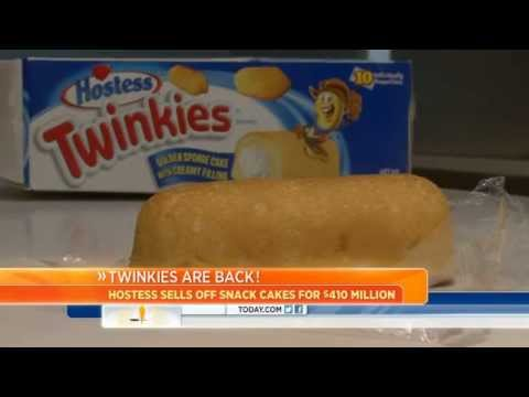 TWINKIES ARE BACK!
