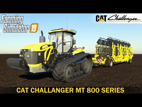 Cat, Challanger MT 800 Series v1.0.0.0