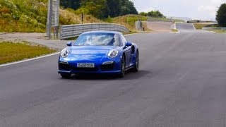 Porsche 911 Turbo S (Porsche 991) Test Drive On Bilster Berg Racetrack - Autogefühl Autoblog
