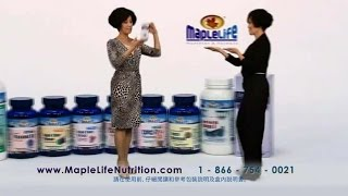 MAPLELIFE NUTURITION TV COMMERCIAL MARY HON - CANTONESE