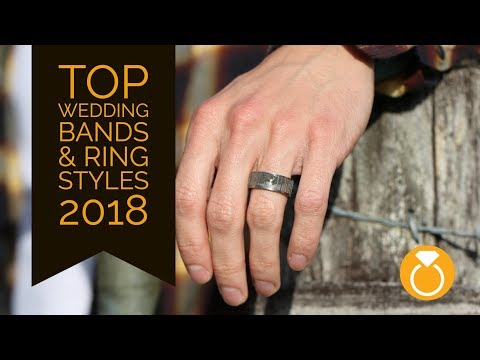 Top Trending Mens Wedding Bands & Rings of 2018