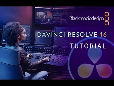 DaVinci Resolve 16 - Tutorial for Beginners [+Overview] - 16 MINS!