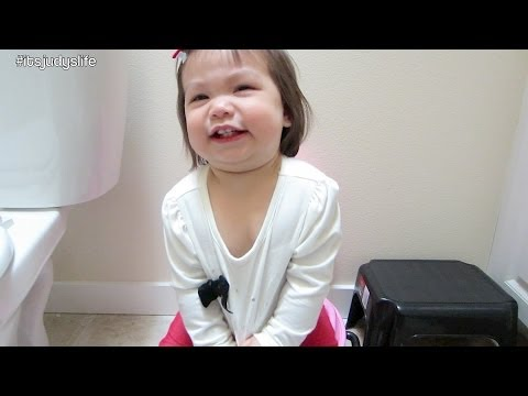 Potty Training Begins%21 - April 17%2C 2014 - itsJudysLife Daily Vlog