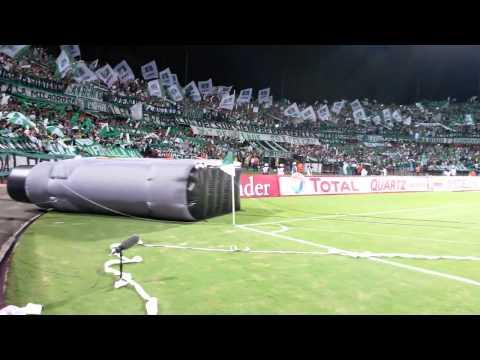OOHH LIBERTAD, OHHH NACIONAL - Atlético Nacional 1 vs Sao Pablo 0 - Los del Sur - Atlético Nacional