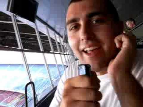 Telecronaca dal Camp Nou: Teo Pizzul e Popi Bonnyci