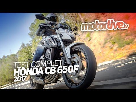 HONDA CB 650F 2017 | TEST COMPLET