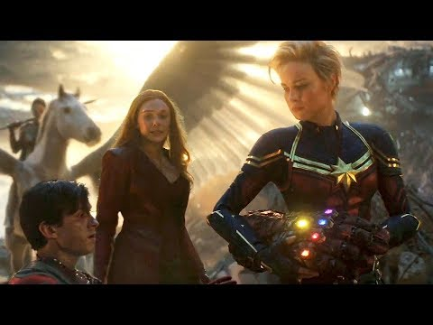 Female Avengers Unite in Final Battle - AVENGERS 4: ENDGAME (2019) Bonus Clip HD