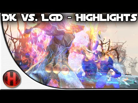 Dota 2 - DK vs. LGD Highlights [@WPC - EPIC MATCH!]