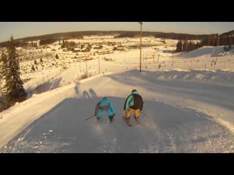 Weekend ski edit himos 2012 Mountain Dew Park & Streettis (видео)