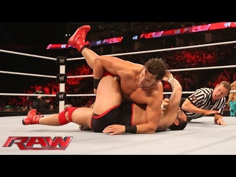 Feb. 17, 2014, Santino Marella vs. Fandango: Raw