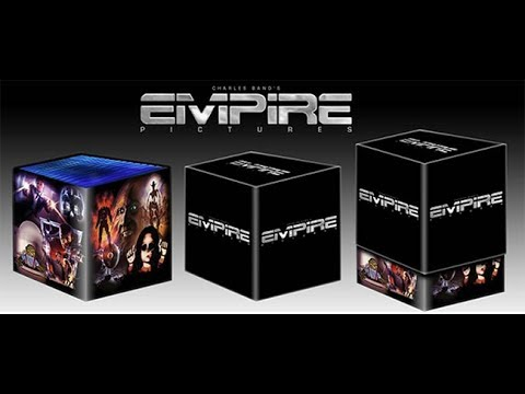 Empire Pictures Blu-ray Box Set, signed by Charles Band, Limited to 600!