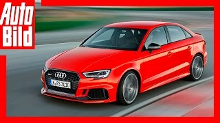 Audi RS 3 (2016) Review/Details by Auto Bild