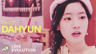 Video TWICE - DAHYUN (Line Evolution) • APR/2018 MP3, 3GP, MP4, WEBM, AVI, FLV April 2018