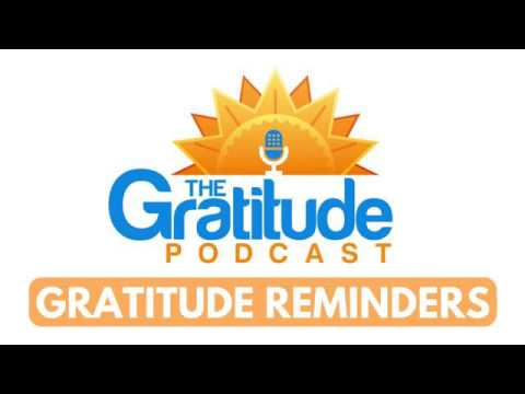 Gratitude Reminders - The Work That You're Doing