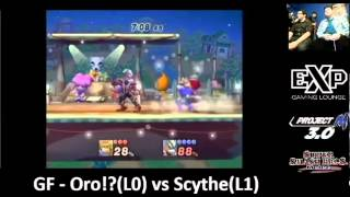 EXPosure 6 Grand Finals: Oro?! (ZSS/Fox) vs Scythe (Wolf)