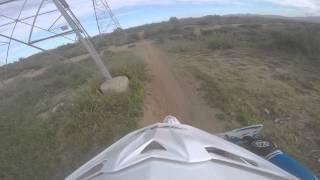 4. Cole Cherick Ripping through the Arizona Desert On his Husqvarna Tc 85