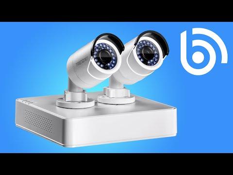 How to set up a TRENDnet TV-NVR104K NVR IP Camera Kit