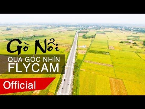 Gò Nổi Điện Bàn Quảng Nam nhìn từ flycam