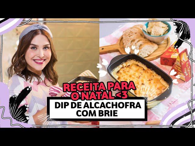 DIP de alcachofra, espinafre e queijo Brie #CHATANACOZINHA | Lu Ferreira | Chata de Galocha - Chata de Galocha