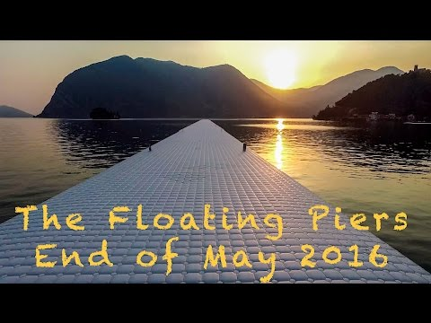 The Floating Piers: dall'alto la passerella è magica
